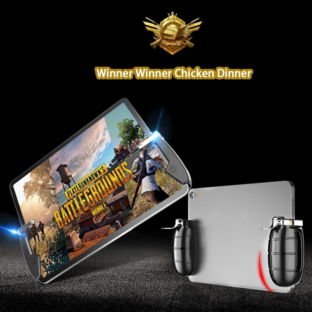 New Tonight Eat Chicken Mobile Phone Mobile Game Trigger Shooting Controller Pubg Fire Button Handle For iPad image