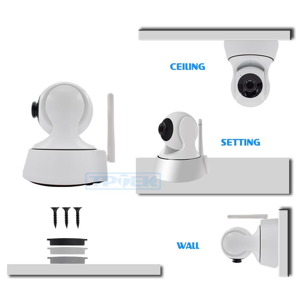 p2p wifi camera