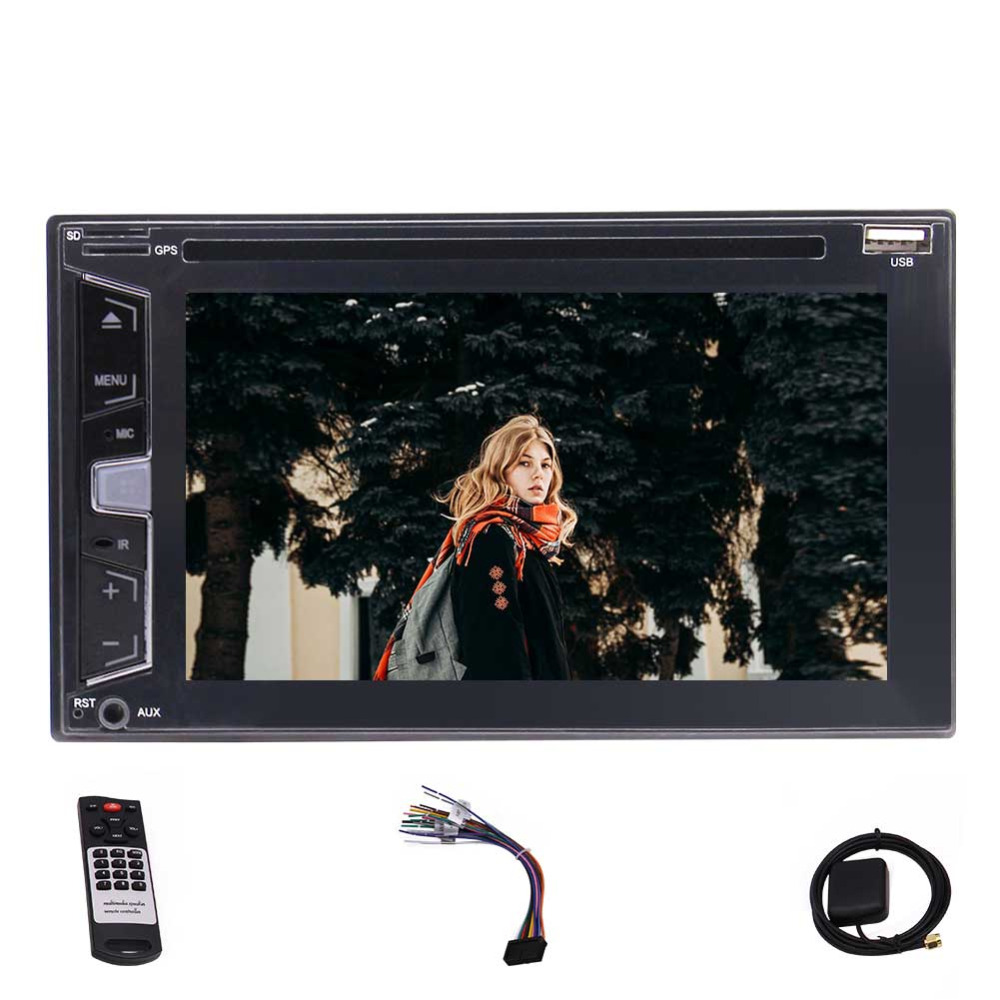 6 2 Double 2 Din Head unit Autoradio Car Stereo DVD CD Player DVD CD MP3