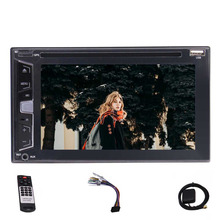 "6.2 ""doble 2 Din unidad principal autoradio car stereo DVD Reproductor de CD DVD/CD/MP3/MP4/ USB/SD FM/AM/RDS/Bluetooth táctil capacitiva cinco"
