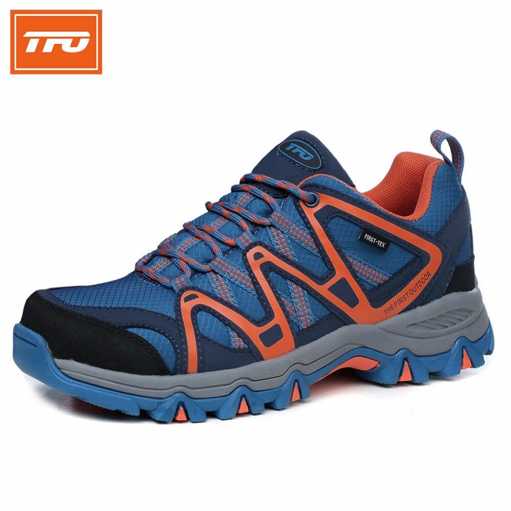 נעלי טיולים - TFO Hiking shoes Men women big plus size ...