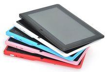 7 Pulgadas Android Tablets PC WIFI Bluetooth Quad Core1GB 16 GB Dual cámara 1024*600 lcd 7 Pc Tab 7 8 9 10 pulgadas tablet