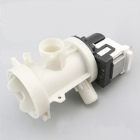Washer Drainage Pump Drain Outlet for Panasonic XQG70 E70GS/GW/XS/XW BPX2 108L Motor Washing Machine Parts