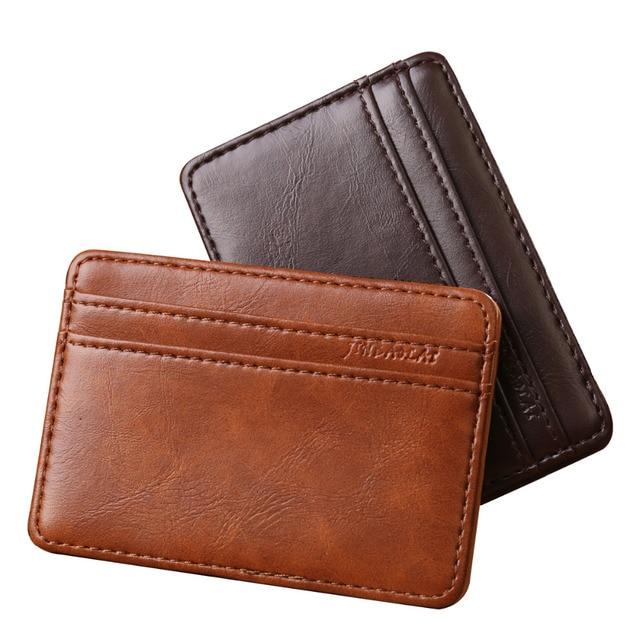 8cf7ca6c6063 New arrive fashion men magic wallet brand designer men wallets money clip  MSB003