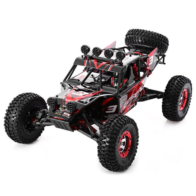 On Sale FEIYUE - 03 4WD 1/12 2.4G Desert RC Off-road Car Full Scale Remote Control Car Toy For Children Cars Radio Control