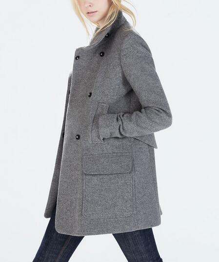 grey wool jacket page 1 - petite