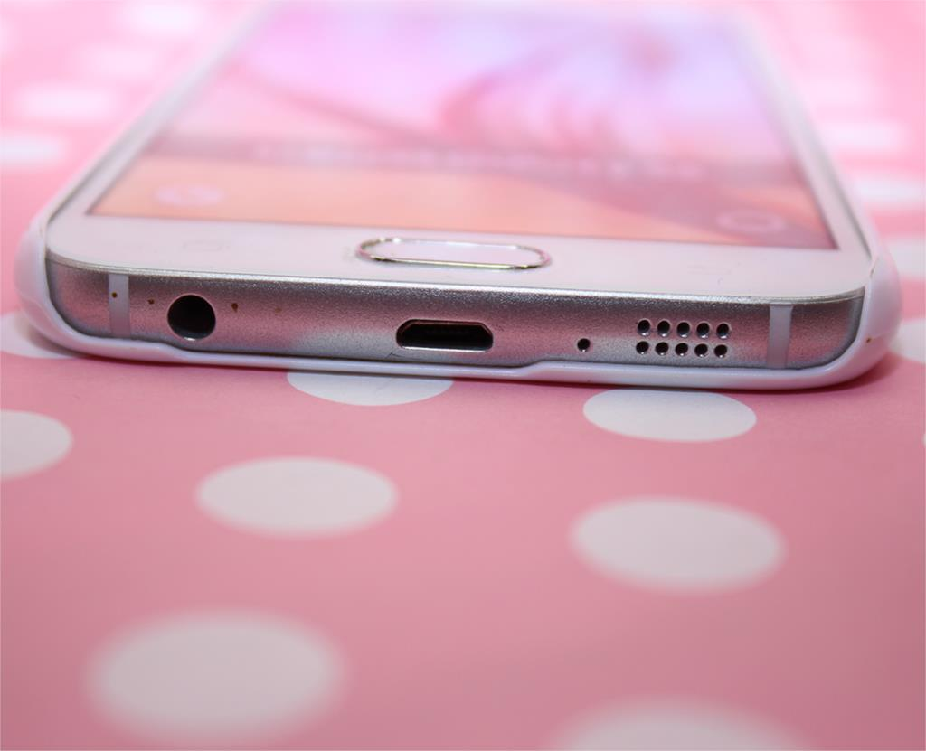 אדמונית קשה לבן התיק כיסוי עבור Galaxy S3 S3 mini S4 S4 Mini S5 Mini S5 S6 S6 edge