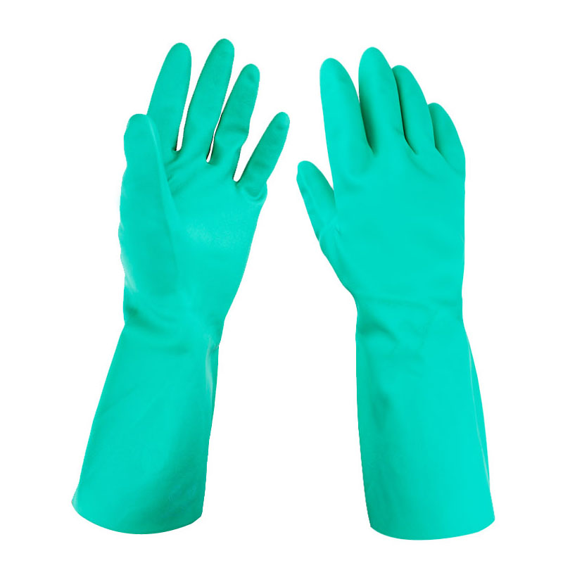 Protective Wear-resistant Soaked Plastic Working Gloves with Waterproof and Anti-oil Hygroscopic Breathable JYD-DR33 top quality hygroscopic breathable