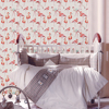 Classic Flamingo Wall Sticker Design Nursery Room Removable Wallpapers Wall Paper Art Poster For Kids Room