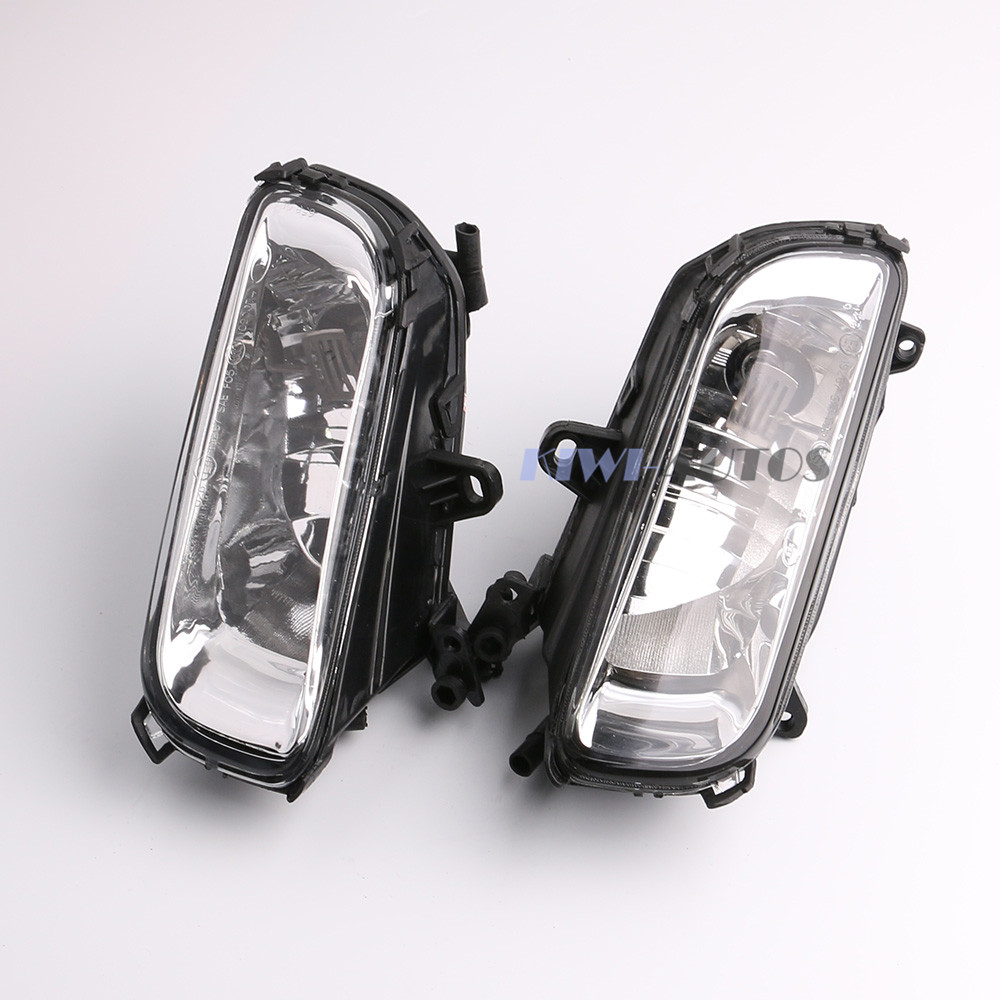 A Pair Front Bumper Halogen Fog font b Light b font Lamp For A8 QUATTRO A8
