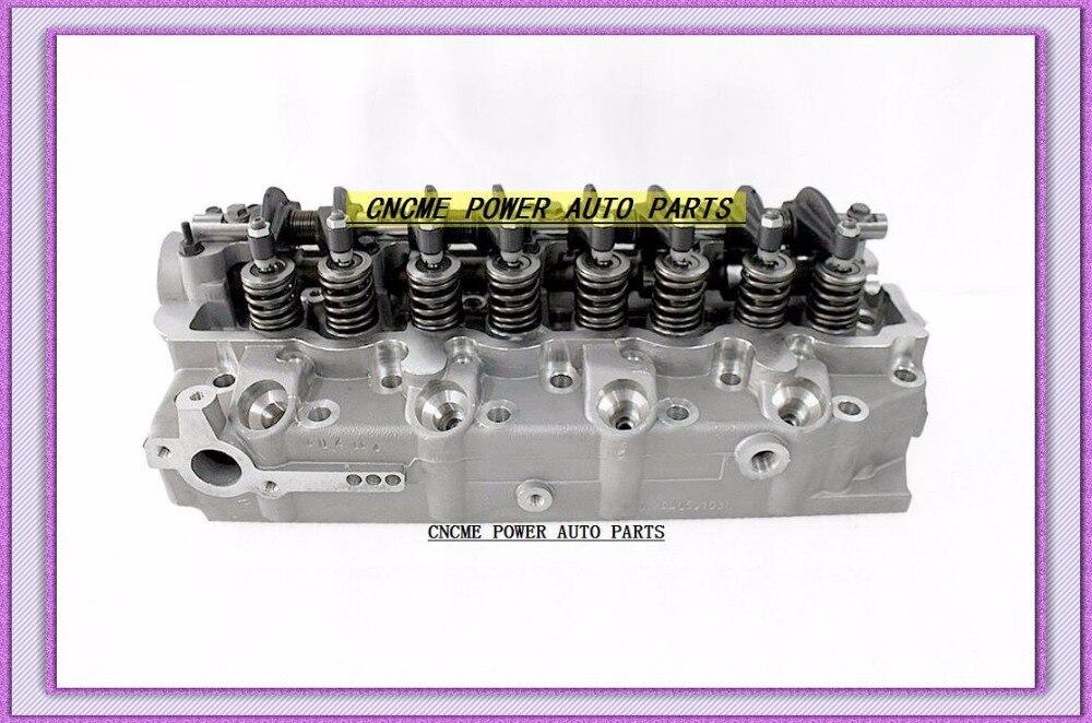 4D56T 4D56 D4BH D4BA Cylinder Head Assembly ASSY For Kia Besta Bongo For Hyundai H1 H100 For Mitsubishi 2.5L MD348983 908613 новый силовой рулевой насос 57100 4f100 для hyundai h100 kmyt 04