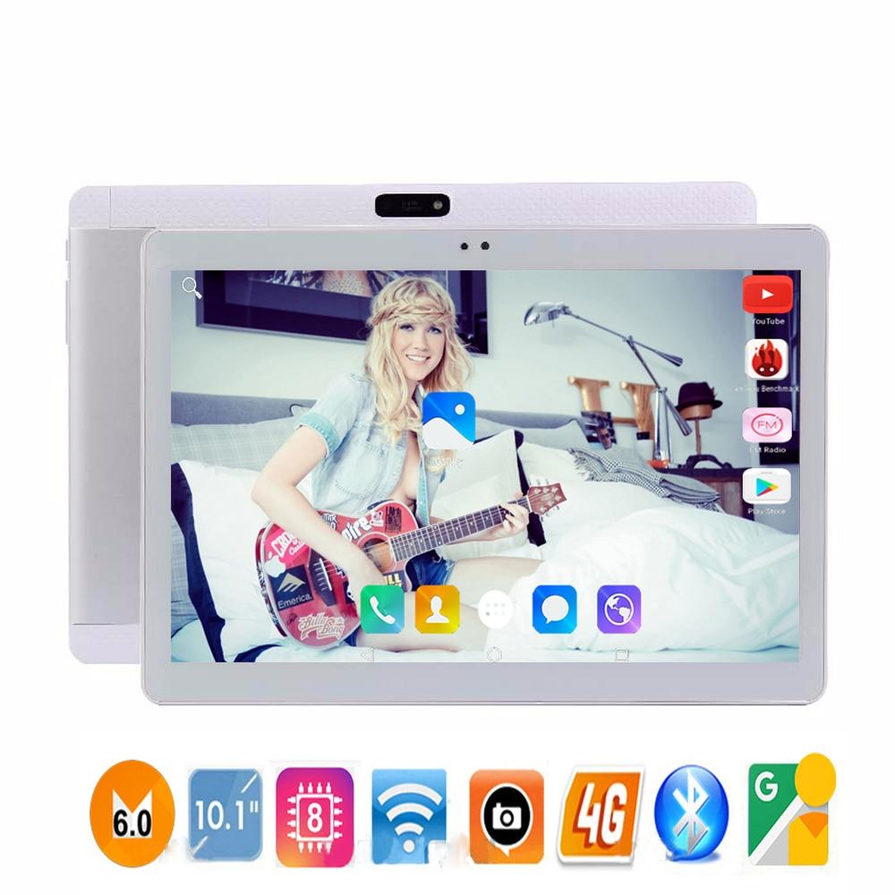 2018 Новые 10 дюймов 4G LTE планшетный компьютер HD 1920*1200 ips 10 Core 32 ГБ Встроенная память Dual SIM Android 7,0 ips таблетки ПК 10