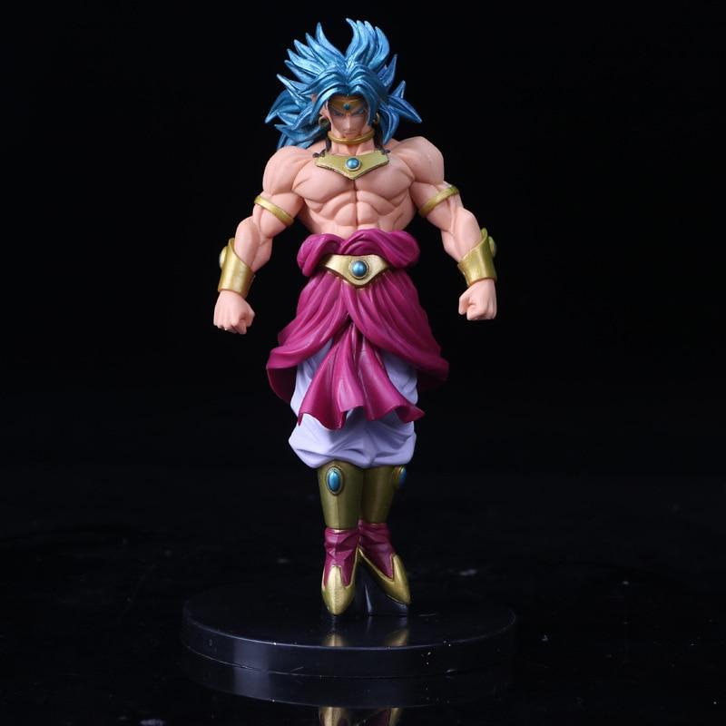 Dragon Ball Wudao Club Brooli Standing Action figure Combat version toys collection doll Christmas gift no box