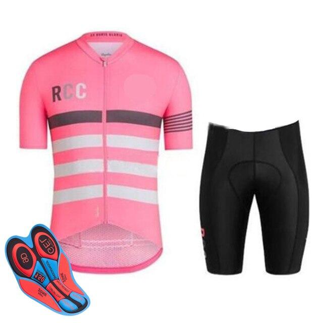 Summer Pro RCC Cycling Jersey Set Racing Bicycle Clothing Man Maillot Ropa  Ciclismo MTB Bike Clothing Sportswear Cycling Set bfa972da0