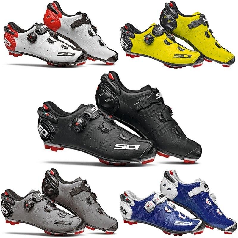 Sidi Drako 2 MTB Lock shoes Shoes Vent Carbon MTB Shoes cycling shoes bicycle shoes