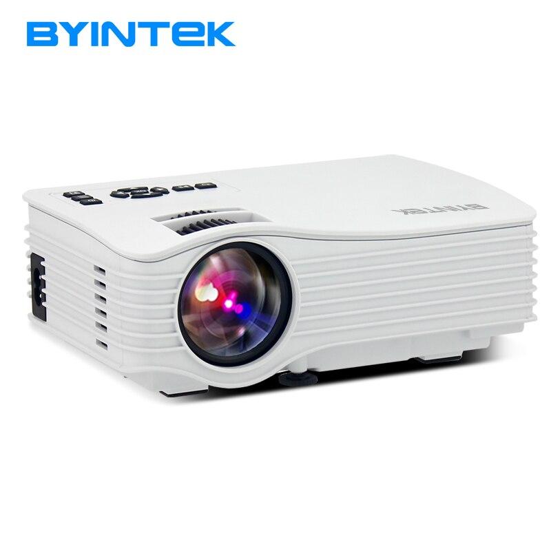 Byintek ML220 Портативный мини-проектор видео ЖК-дисплей Цифровой HDMI USB AV SD светодиодный проектор для домашнего Театр Поддержка 1080 P Кино proyector