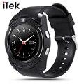 Новый TK44 Полный Экран Кругового Спорт Smart Watch Для Android Матч Смартфон Поддержка TF Sim-карты Bluetooth Smartwatch PK GT08