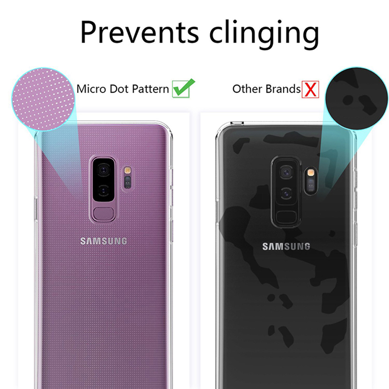 Luxury Soft Silicone Case For Samsung Note 9 8 S9 S8 S10 Plus Coque TPU Back Cover For Samsung Galaxy S9 S8 S7 A10 A50 A30 Funda in Fitted Cases from Cellphones Telecommunications