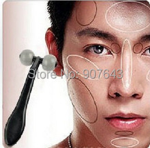 2pcs/lot T type face skin massager men's mini handheld face Health care beauty massage Free Shipping