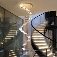 현대 led 샹들리에 거실 펜 던 트 램프 침실 비품 계단 중단 된 조명 레스토랑 매달려 조명 luminaire