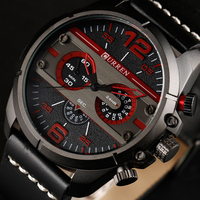 2018 CURREN Watches Men Luxury Brand High Quality Watch Men Clock Male Sports Quartz Watch Mens