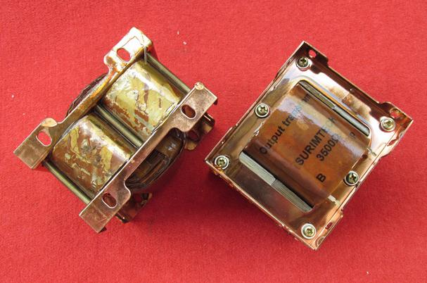 2PCS Used disassemble items FOR 3.5K double C-grade amorphous tube amp output transformer 3.5K: 4 Euro 8 Euro 16 Euro free shipping 50r1 pdp50r1 eax61300301 used disassemble