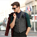 England Men'S Suit Vest Business Casual Men'S Jackets Vest Waistcoat Tide Autumn And Winter Korean Version Of Slim Vest Mv91055