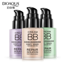 BIOAQUA Brand Makeup Primer Base Whitening Liquid Foundation Moisturizing Breathable Naked Make Up Facial Repair Flawless Cream