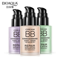 Bioaqua marca base de maquillaje primer blanqueamiento líquida fundación hidratante transpirable naked maquillaje facial reparación crema impecable
