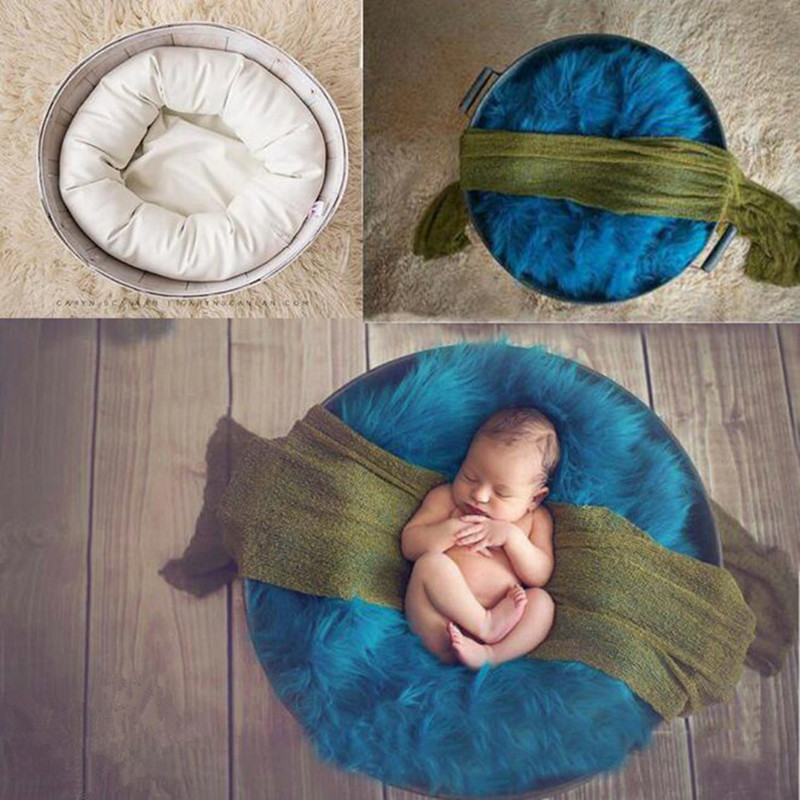 Newborn Photography PropsBaby Photography Accessories Bucket Basket Stuffer Filler Baby Posing Pillow Studio Baby Photo Props