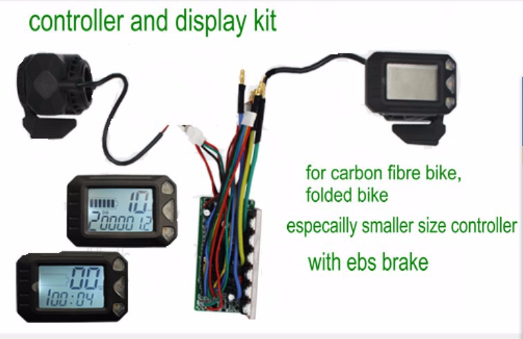 display ebs brake controller for carbon fibre bike