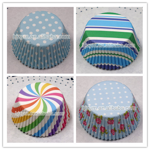 Most Beautiful Printing Paper Kitchen Accessories Cupcake Baking Liners Muffin Cups 200 Pcs Assorted 2 Designs