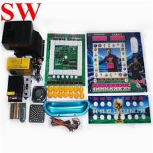 ใหม่ DIY ชุดมาริโอเกมสล็อตเครื่องมาริโอเกมตู้บอร์ด PCB แหล่งจ่ายไฟเหรียญ hopper push ปุ่มรับเหรียญ