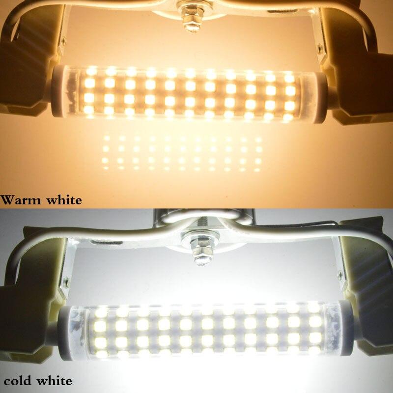 Lâmpadas Led e Tubos r7s lâmpada 18mm diâmetro perfeito Comprimento : 78mm 118mm