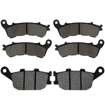 Motorcycle Front and Rear Brake Pads for Honda CBF 600 CBF600 2008 2009 NC700 NC 700 2012 2013 XL 700 Transalp 2008- 2011 image