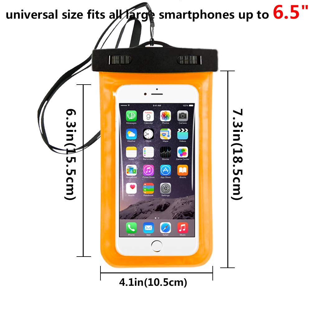 Waterproof Bag Outdoor PVC Plastic Dry Case Sport Cellphone Protection Universal Cell Phone Case For Smart Phone Under 6.5 inch-in Phone Pouches from Cellphones & Telecommunications    1