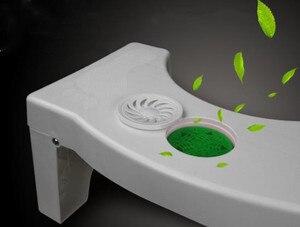 Image 3 - Bathroom Anti Constipation For Kids Foldable Plastic Footstool Squatting Stool Toilet