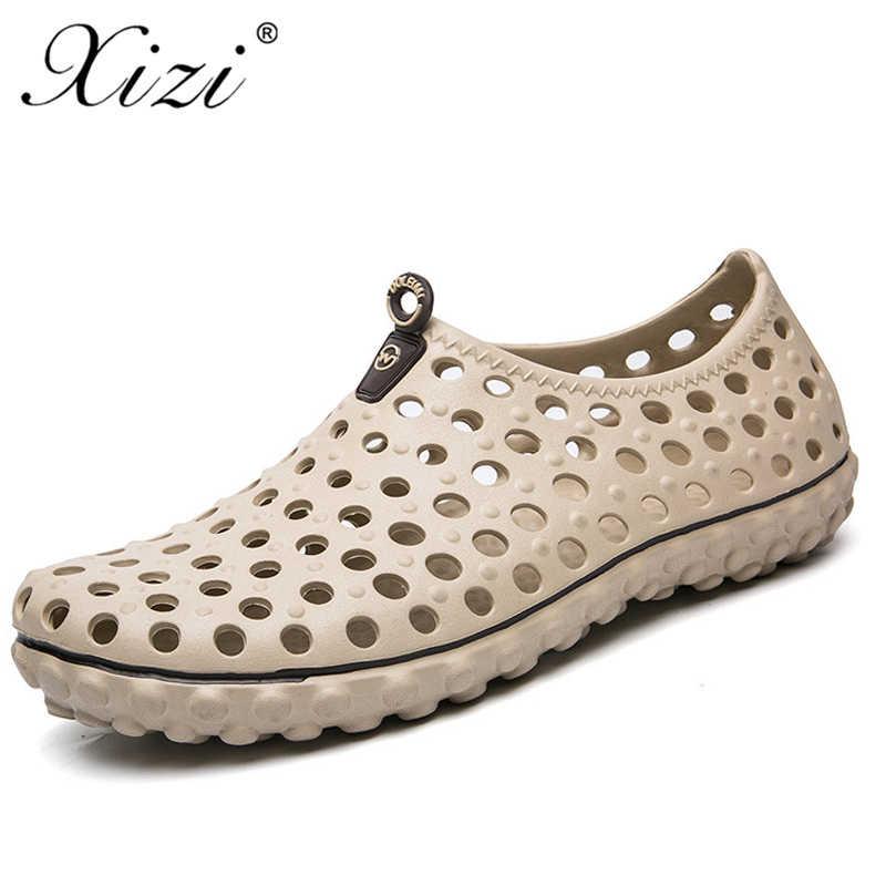 20431c66c13 Xizi New Summer Men Garden Clogs sandals cro Shoes cs Comfortable Sandals  Men Casual Beach