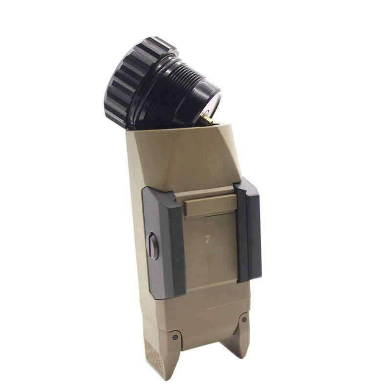 APL-G3 400 Lumen Pistole Waffe Taktische Licht Konstante/Momentary/Strobe Kompakte Waffe Picatinny Schiene Montiert für Glock Jagd