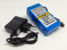 MasterFire 2SET/LOT DC-12680 12V 6800mah Rechargeable Li-ion Battery Pack Replacement Power Tool Batteries For CCTV Camera