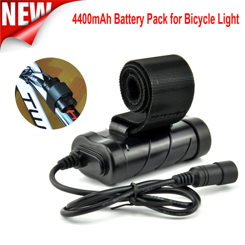 8.4V 4400mAh Rechargeable 2x 18650 Battery Pack For Head lamp Bike Bicycle Light Waterproof bicycle light battery #2M29 ...