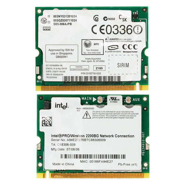 INTEL PRO WIRELESS LAN 2200BG 2915ABG PCI WINDOWS XP DRIVER DOWNLOAD