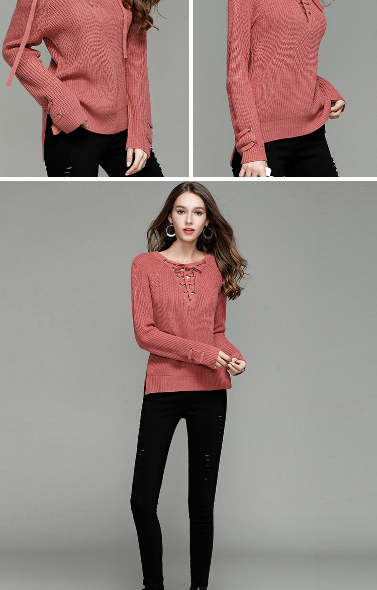 HTB1dUciSXXXXXctXpXXq6xXFXXXO - Sexy V-Neck With Knitted Long Sleeve Sweater JKP286