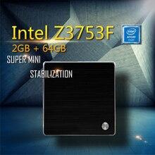РГНС F3 HTPC Intel ПРОЦЕССОРА Atom 1.8 ГГц 2 ГБ 64 ГБ SSD HD Graphics WIFI mini pc Компьютер windows