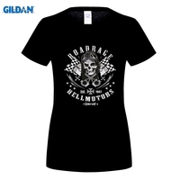 GILDAN Fashion Slim Fit Top Printed T Shirt Biker Road Rage Rider Chopper Old School Custom