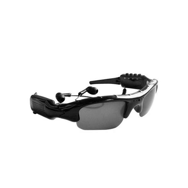 8GB Card+Video Sunglasses + mp3 player Glasses DV DVR Recorder camcorder Camera -TF eyewear sunglasses camera support tf card music video recorder dvr dv mp3 camcorder music glasses with earphone