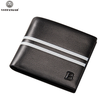 2016 New Arrival PU Leather Men Wallets Black Brown Designer Coin Pocket Card Holder Purse Wallet carteira masculina