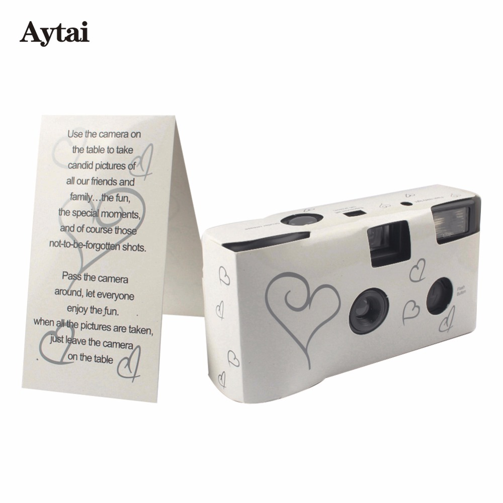 personalized lovebirds wedding camera. reception table ideas for ...