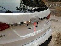 Chrome Rear Trunk Lid Cover Trim For 2013 Santa Fe sport