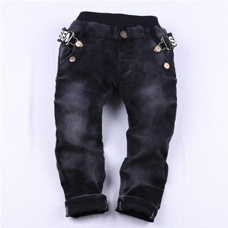 a43a38873 Hurave Kids Jeans Spring and Autumn 2019 New Boy Casual Slim Black Jeans  Boys Trousers leisure-in Jeans from Mother & Kids on Aliexpress.com |  Alibaba Group